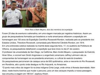Extra de Rondonia