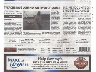 Treacherous Journey on River of Doubt